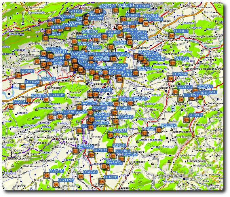 119 Tradis in 10km Umkreis !
