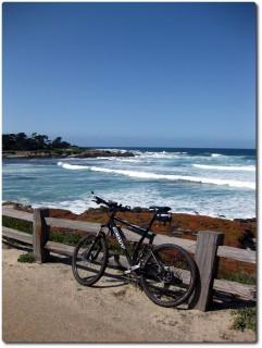 17 Mile Drive - Meer und Mountainbike