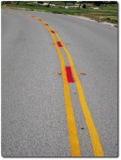 Neue Markierung 17 Miles Drive