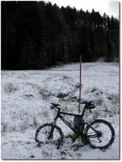 Im ersten Schnee von 2011