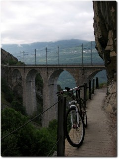 Lüegilchi Viadukt nach Hohtenn