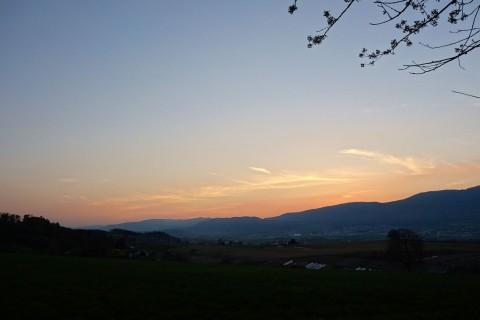 Abendstimmung nach Sonnenuntergang