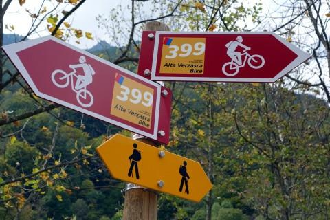 Wegweiser 399 - Alta Verzasca Bike