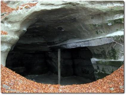 Geocache - GC2EGKC - Sandsteingrotten