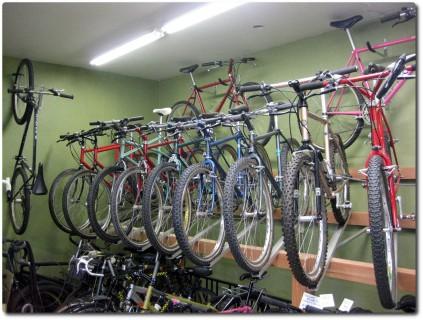 Bikeshop und Museum zugleich...