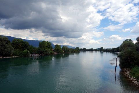 Aare bei Arch