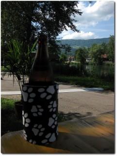 Verdientes Bier an der Aarebar in Wangen aA