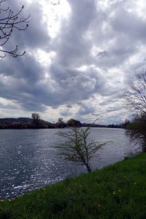 Aare im April 2016