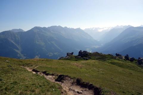 Tolle Aussicht aber unfahrbarer Trail