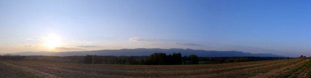 Panorama - Jura vom Buechibrg aus
