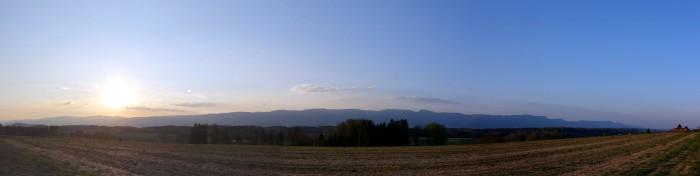 Panorama - Jura vom Buechibärg aus