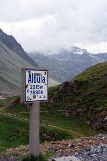 Albulapass - Passhöhe
