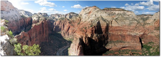 Panorama View - Angels Landing