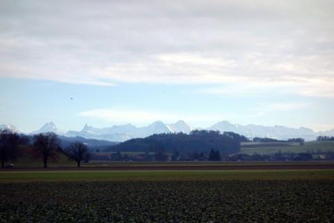 In den Alpen ist es schöner...