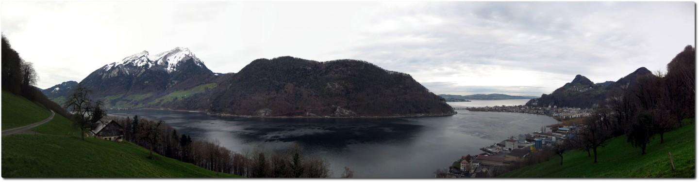Panorama Alpnachersee