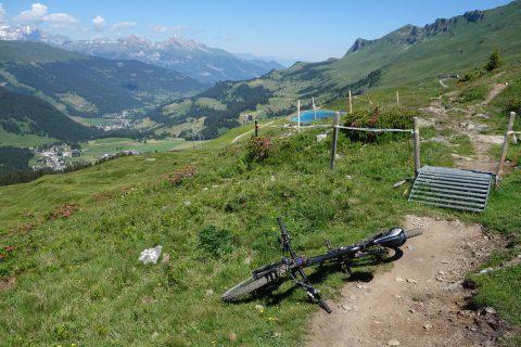 Traumtrail zur Alp Scharmoin