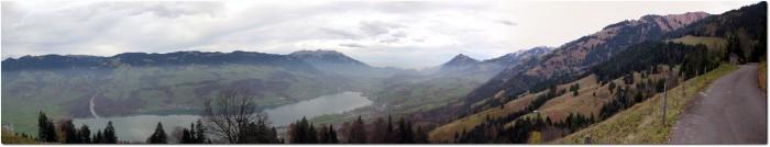 Panoramablick auf Sarnen