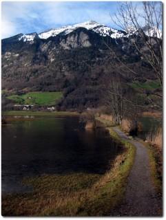 Januartrails bei Alpnach