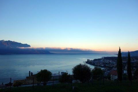 Rastplatz Montreux - Morgenstimmung 01