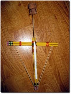 Bleistift Armbrust