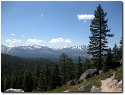 Aussicht vom Armstrong Connector Trail