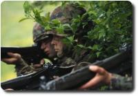 Soldat Schweizer Armee