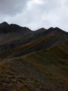 Trail auf dem Arpeligrat - Arpille