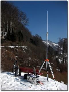 Alpine Rettung Schweiz - Mobiles Relais bei Rengg