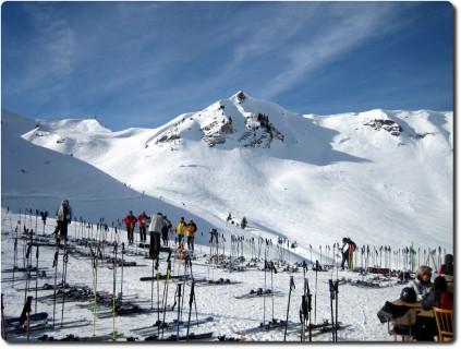 Adelboden - Skigebiet Pistenrestaurant