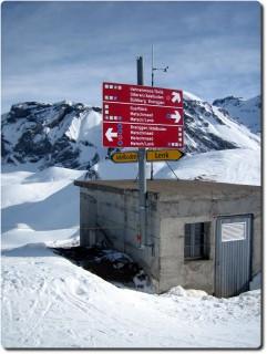 Adelboden Skigebiet - Übergang Hahnenmoos