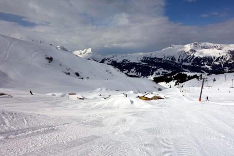Adelboden Skitag Snowpark