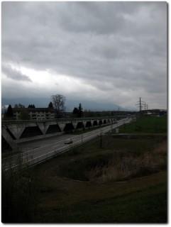 Autobahn bei Zuchwil