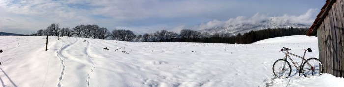 Panorama Winterlandschaft