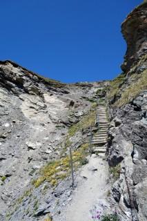 Treppen Col de Tsofeiret