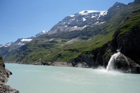 Wasserzufuhr zum Lac de Mauvoisin