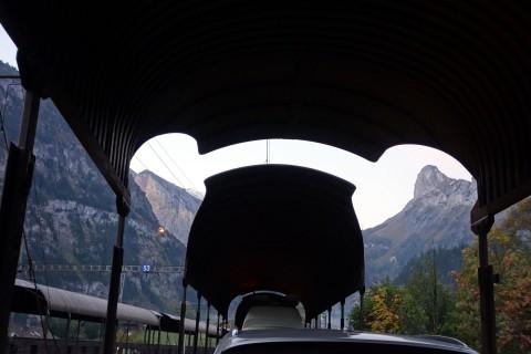 Autoverlad ins Wallis