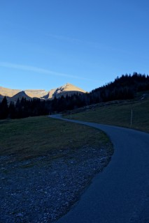 Aufstieg zur Grossen Scheidegg