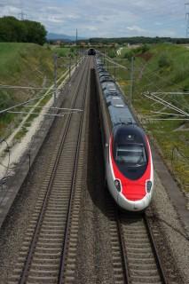 Bahn 2000 Strecke mit ICE