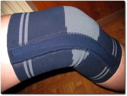 Manschette für das lädierte Knie