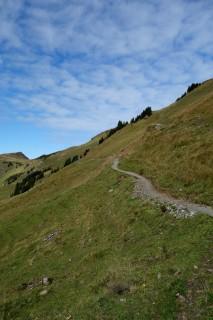 Endloser Trail entlang der Balisalp