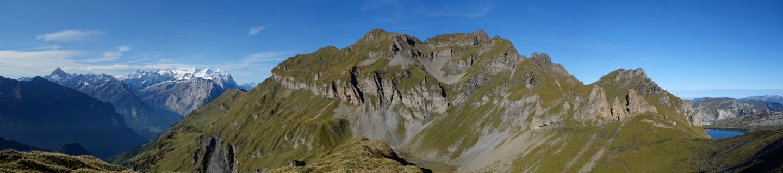 Panorama Balmeregghorn und Rothorn