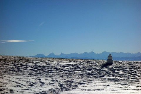 Balmberg - Blick zu den Alpen