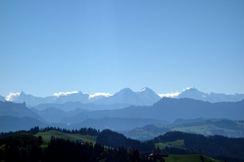 Berner Alpen - Nahaufnahme