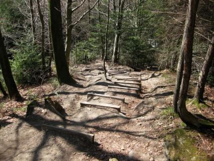 Bantiger Trail-Treppen