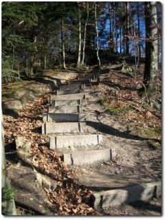 Bantigertrail Treppen