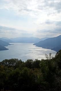 Blick über den Lago von Bassuno