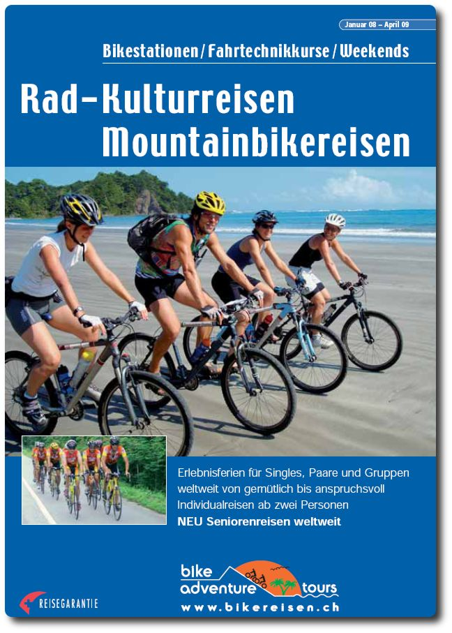 bike adventure tours Katalog 2008