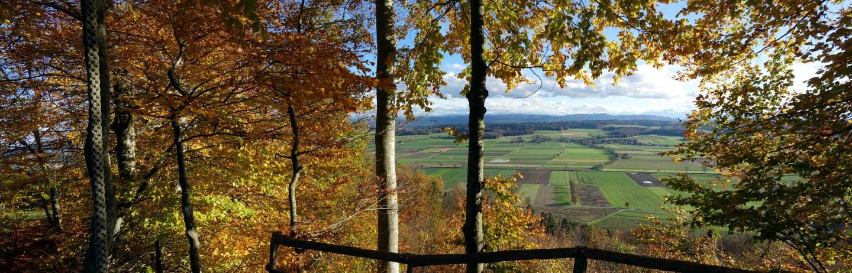 Herbstimpressionen über dem Limpachtal