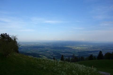 Balmberg - Blick ins Mittelland