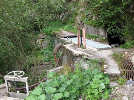 Bisse de Ricard - Wasserfassung